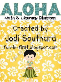 Aloha Math and Literacy Stations