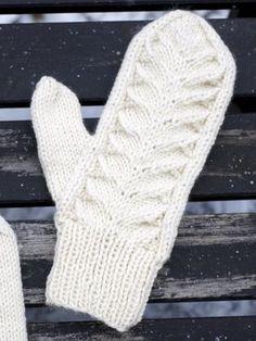 Nordic Yarns and Design since 1928 Crochet Mittens, Knitted Gloves, Knit Crochet, Knitting Charts, Free Knitting, Knitting Patterns, Wrist Warmers, Knit Beanie, Needlework