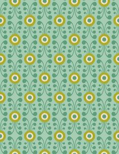 Pattern 91 from PatternPod.com #geometric #floral