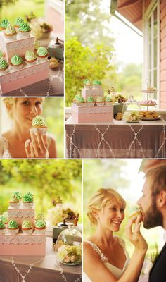 Pretty pastel wedding