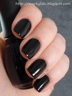 Wacky Laki: Sinful Colors Black on Black