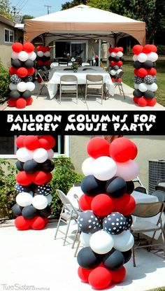 Mickey Mouse Cupcake Stand Mickey mouse cupcakes Mickey mouse