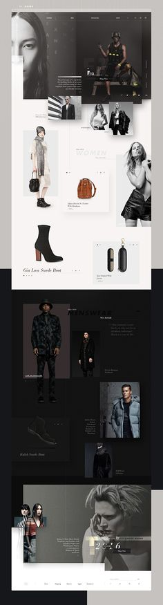 Redesign of the fashion designer Alex Wang´s website. This is a personal project by Josué Solano