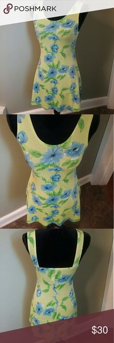 e09c6480ac6a32 BUNDLE ONLY Lime green blue floral dress
