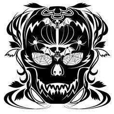 Skull Tatoo © bluedarkat