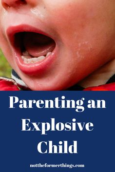 A five part series on the realities of parenting an explosive child.