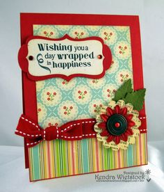 Kendra's Card Company: Wrapped up in Happy!