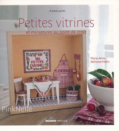 Miniature Window Box Petites vitrines Cross Stitch  by PinkNelie