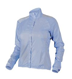 Endura Women's Waterproof Jacket is packable for easy storage.  Showerproof and wind resistant.  Keep you warm in on cool rides.  Good Cycling Jacket.