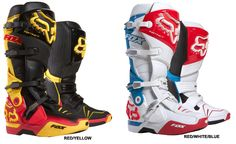 Fox - Chad Reed Limited Edition Instinct Boots
