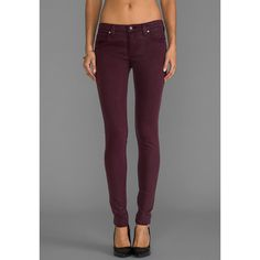 Frankie B. Jeans Perfect Skinny (135 CAD) ❤ liked on Polyvore