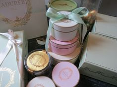 Laduree's exquisite packaging!!  Sublime!!