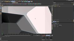 Sub-D Modeling in C4D - Lesson 7 - Extruding odd shaped holes while main...