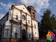 MICHOACÁN MÁGICO. Si visita la ciudad de Pátzcuaro no puede dejar de visitar la Basílica de Nuestra Señora de la Salud. Este templo fue construido a mediados del siglo XVI, en ella descansan los restos y algunos objetos de que fuera fundador de la ciudad Don Vasco de Quiroga. Michoacán Mágico le invita a disfrutar de la belleza arquitectónica de esta basílica ubicada en el centro de Pátzcuaro. BEST WESTERN MORELIA http://www.bestwestern.com.mx/best-western-plus-gran-hotel-morelia/