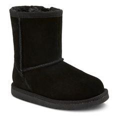 Toddler Girls' Lucia Suede Boots Cherokee - Black 8, Toddler Girl's