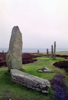 Ring of Brodgar, Orkney Islands, Scotland.