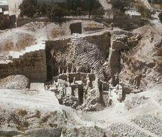 Ruins of King David's Palace, Jerusalem.