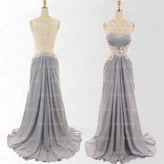 The lace prom dress are fully lined, 4 bones in the bodice, chest pad in the bust, lace up back or zipper back are all available, total 126 colors are available. This dress could be custom made, there are no extra cost to do custom size and color.  Description of lace prom dress 1, Material: ...