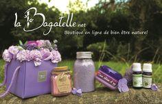 Vente en ligne de produits de bien être 100 % naturel, aromathérapie, bain, senteur, paniers cadeaux, recettes DIY