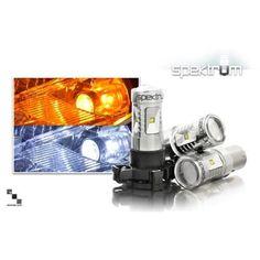 Bimmian WTS909VWY Weisslicht LED Turn Signal Bulbs For Bmw E90 & E91 From 2009-2012, Reverse Bulbs - White Illumination Pair, As Shown