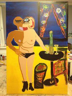 in Verbindung Painting, Art, Craft Art, Paintings, Kunst, Gcse Art, Draw, Drawings, Art Education Resources