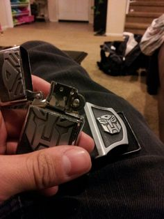 Mens Removable USA Tank Pattern Belt Buckle With Refillable Lighter And Belt