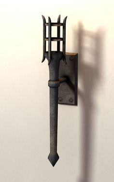 medieval torch
