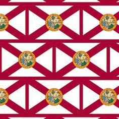Smartphone Case - State Flag of Florida  - Patchwork