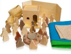 Worship Woodworks makes products that can be used in Montesorri-based Christian Education. Sonja Stewart and Jerome Berryman first did together before Godly Play. Youth Bible Study, Bible For Kids, Woodworking Projects For Kids, Learn Woodworking, Wooden Projects, Round Wood Table, Godly Play, Crayon Holder, The Good Shepherd