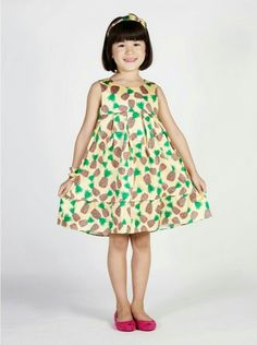 Vestido de abacaxi!