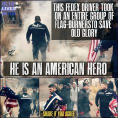 A true American Patriot! God Bless you! The idiots burning the flag can go live in any other nation in the world. We The People, Good People, Amazing People, Independance Day, American Pride, American Flag, American Veterans, American History, Real Hero