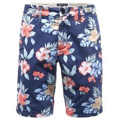 Die coole blaue #Shorts mit #Blumenmuster sorgt für einen gelungenen Auftritt am Strand ab 99,90€ ♥ Hier kaufen: http://stylefru.it/s584470 #tommyhilfiger #boardshorts #sommer