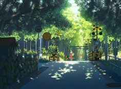 Gallery Anime Art Wallpaper – About Anime Scenery Background, Animation Background, Environment Concept Art, Environment Design, Fantasy Landscape, Landscape Art, Anime Kunst, Anime Art, Manga Art