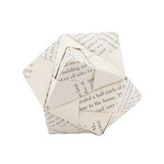 craft inspiration-Origami Décor