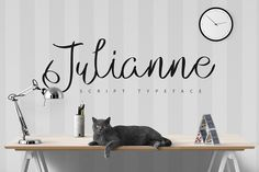 Julianne Script Typeface | -50% by ZeStudio on @creativemarket
