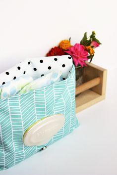 Diaper Clutch, Herringbone Fabric, Aqua, Small Diaper Bag, Modern Print by BlackArrowStudio on Etsy https://www.etsy.com/listing/200017293/diaper-clutch-herringbone-fabric-aqua