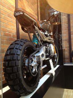 Triumph Scrambler Bike Shed Pairs