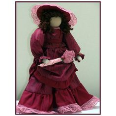 Looking for your next project? You're going to love Elizabeth - Victorian Lady Art Doll  by designer Linda Walsh.