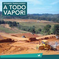 As obras continuam a todo vapor no Jardim Entre Rios. Estamos planejando e trabalhando muito, para realizar as obras com os maiores detalhes possíveis. Venha viver Entre Rios! #JardimEntreRios