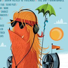 Work: Posters: Sasquatch! Music Festival