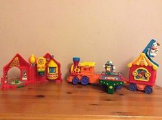 FISHER PRICE LITTLE PEOPLE RARE CIRCUS TRAIN BUNDLE in Toys & Games,Pre-School & Young Children,Fisher Price/ Little People   eBay