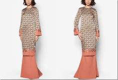 On Modesty & Ready To Wear JLuxe By Jovian Collection For Raya 2015: abstract-embellished-baju-kurung