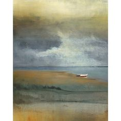 Row Boats II' Canvas Art | Overstock™ Shopping - Top Rated Canvas