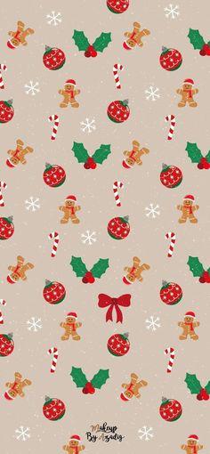 Holiday Iphone Wallpaper, Cute Christmas Wallpaper, Iphone Wallpaper Vsco, Christmas Aesthetic Wallpaper, Holiday Wallpaper, Iphone Background Wallpaper, Christmas Background, Aesthetic Iphone Wallpaper, Disney Wallpaper