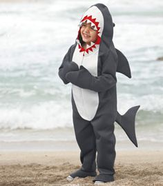 shark costume... G wants to be a shark for halloween... Gotta be prepared :)