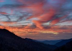 Sunset in the Smokies! How much do you love it?