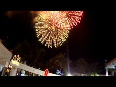 New Year Celebration on Isla Mujeres Mexico - YouTube