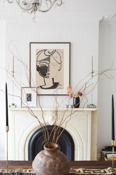 Inside Lizzie Fortunato's Art-Filled Brooklyn Brownstone - Living - Rip & Tan Brooklyn Brownstone, Brooklyn House, Deco Design, Design Design, Design Elements, Design Ideas, Decoration, Home And Living, Living Rooms