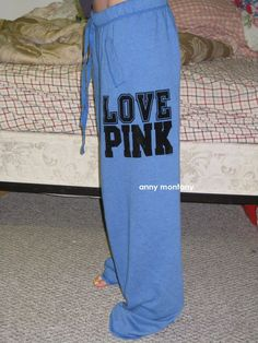 vs pink sweatpants - Google Search I have been dying for a pair of these