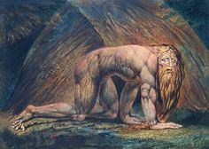 William Blake - Nebuchadnezzar (Tate Britain) - Nebuchadnezzar (Blake) - Wikipedia, the free encyclopedia